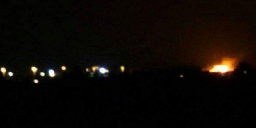 Şam'da Havaalanı Yakınında Patlama