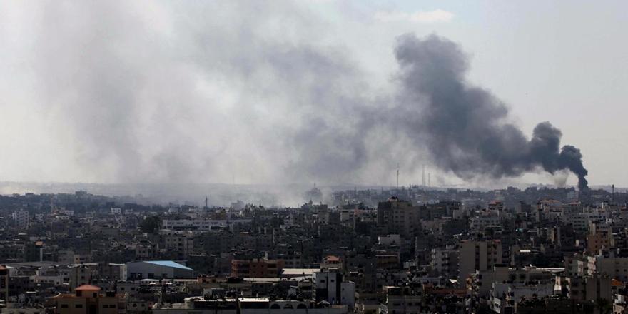 İşgalci İsrail'den Gazze Şeridi'ne Hava Saldırısı!