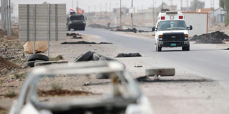 Musul'da Canlı Bomba Saldırıları: 14 Polis Öldü