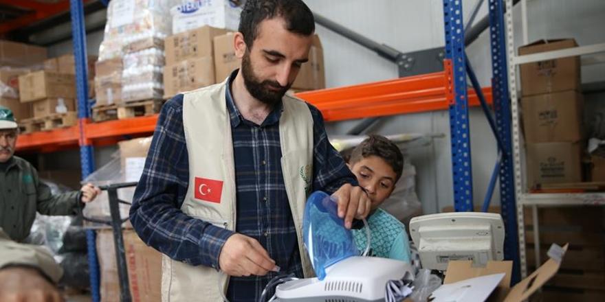 İHH'dan Suriyeli Mazlumlara Sağlık Desteği