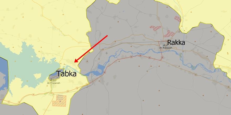 Takba'da IŞİD ile YPG Arasında Yoğun Çatışmalar Yaşanıyor