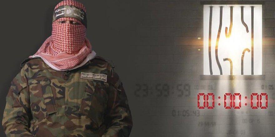 İzzeddin Kassam Tugayları'ndan Siyonist İsrail'e 24 Saat Mühlet