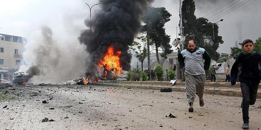 PKK/PYD'den Azez'deki Sivillere Roketli Saldırı!