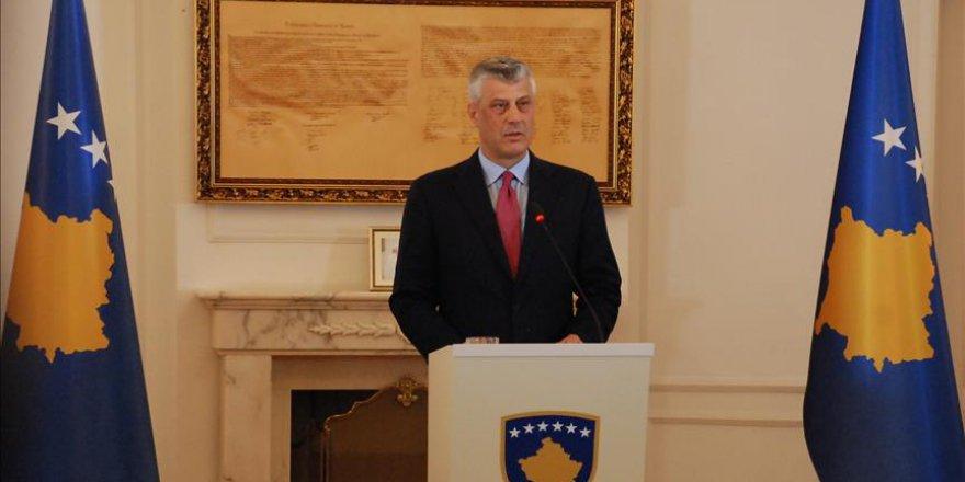 Kosova Cumhurbaşkanı Thaçi Meclisi Feshetti