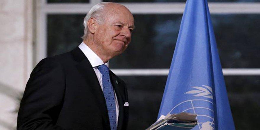 Mistura, Suriye'de 'Çatışmasızlık Bölgeleri' Anlaşmasından Umutlu