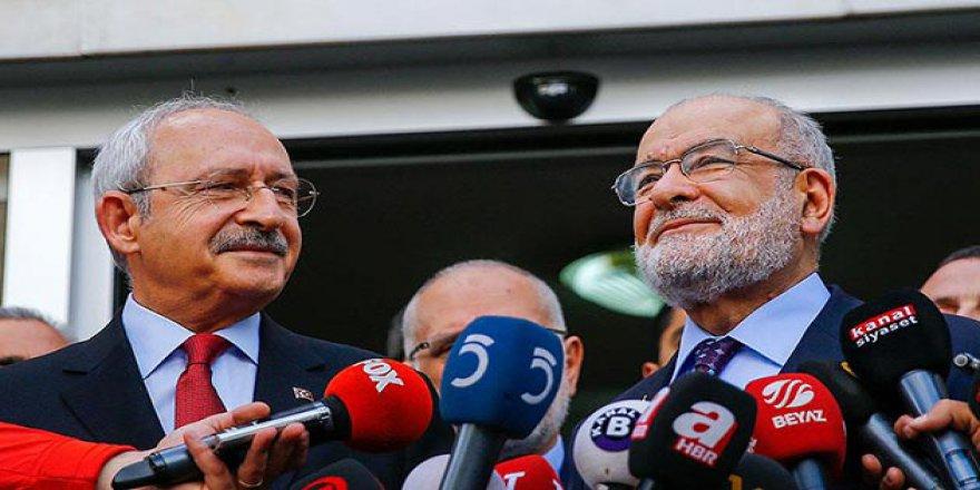 Saadet Partisi Kılıçdaroğlu'nu Ağırladı