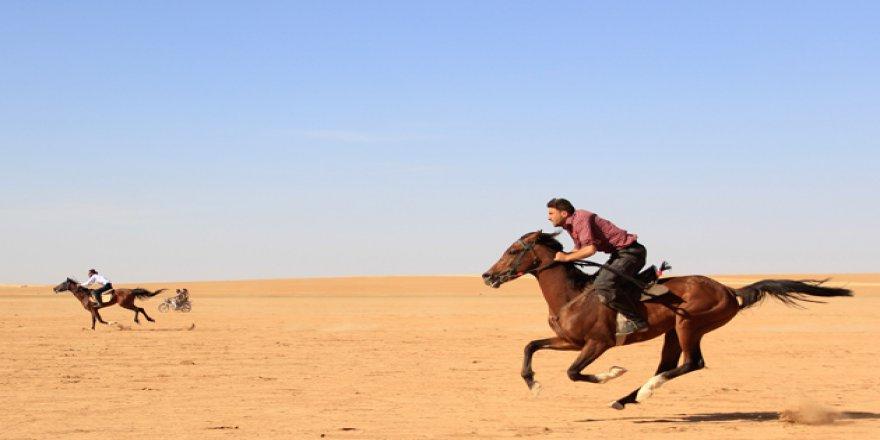 Halep Kırsalında At Yarışları Düzenlendi