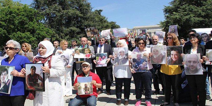 Esed Rejimi Cenevre'de Protesto Edildi