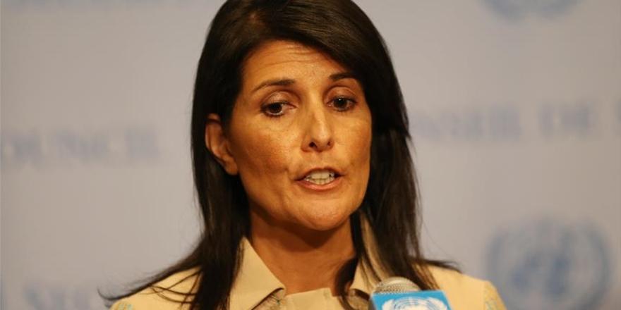 """ABD'nin BM Büyükelçisinden """"Kudüs Başkent Olmalı"""" Çıkışı!"""