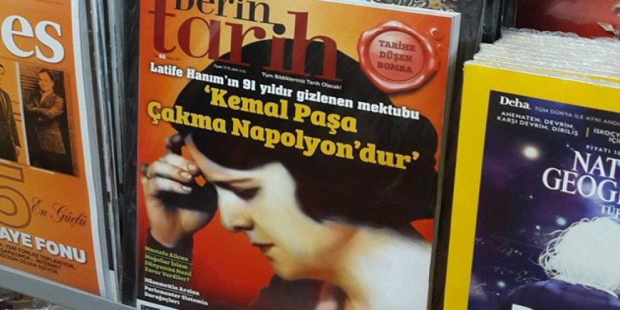 'Derin Tarih' Mayıs Sayısı Toplatılıyor