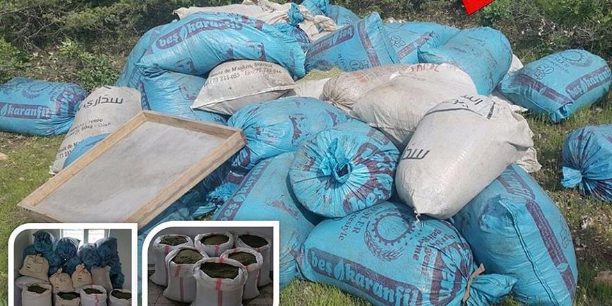 Diyarbakır'da Bir Ton 158 Kilogram Esrar Ele Geçirildi!