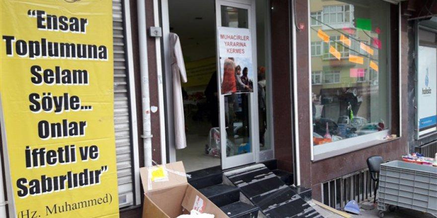 Gaziosmanpaşa'da Muhacirler Yararına Kermes Düzenlendi