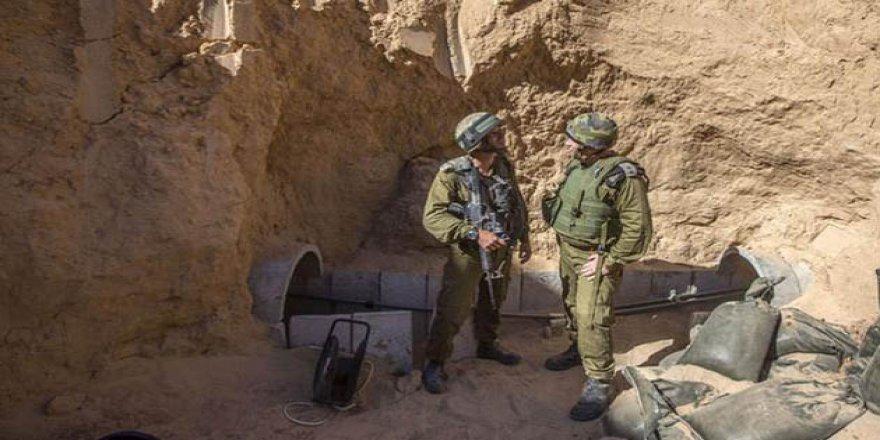 Sisi Cuntası, Gazze Sınırındaki Tünelleri Yıktı