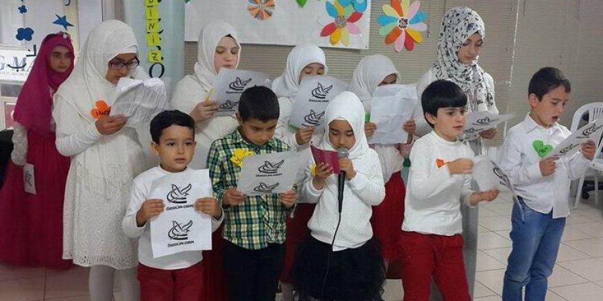 Eynesil Özgür-Der Çocuk Kulübünde Yıl Sonu Etkinliği