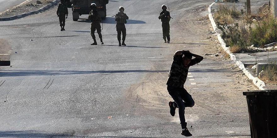 İşgalci İsrail Polisi 45 Yaşındaki Filistinliyi Katletti!