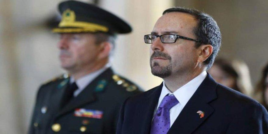 ABD Büyükelçisi Dışişlerine Çağrıldı
