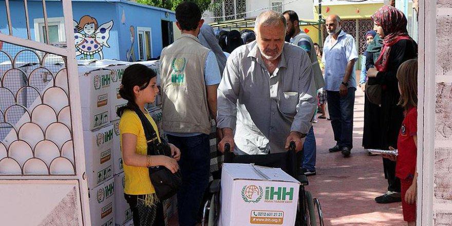 İHH'dan Kilis'teki Suriyeli Ailelere Yardım