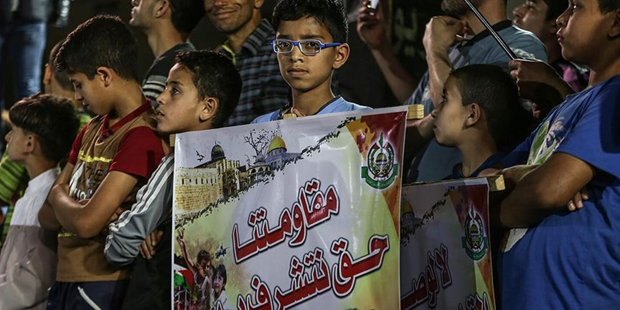 Gazze'de Trump'a Tepki: Asıl Terörist İşgalci İsrail'dir