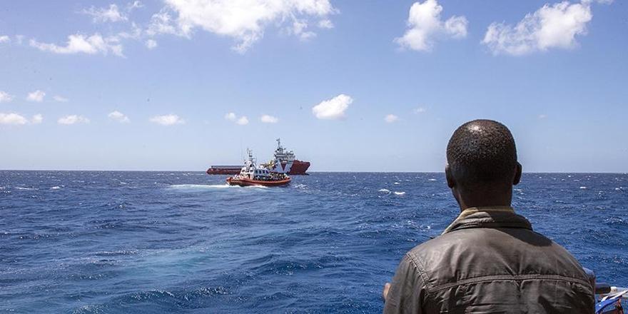 Libya Açıklarında 50 Göçmeni Taşıyan Tekne Battı