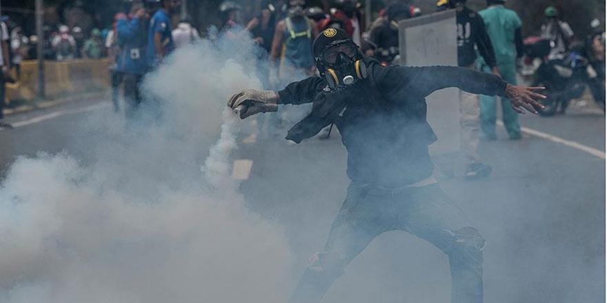 Venezuela'daki Gösterilerde 55 Kişi Hayatını Kaybetti!