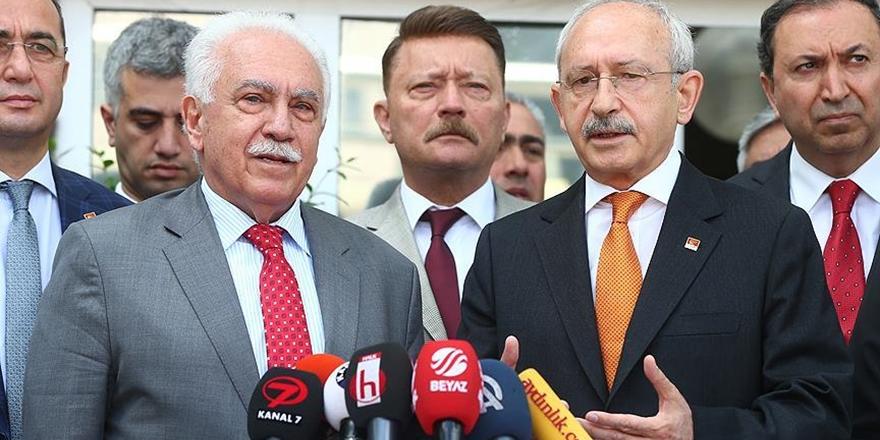 Kılıçdaroğlu Vatan Partisi'ni Ziyaret Etti