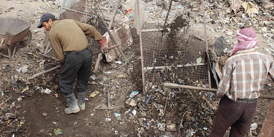 Doğu Guta'da Çöplerden Gübre Üretiliyor