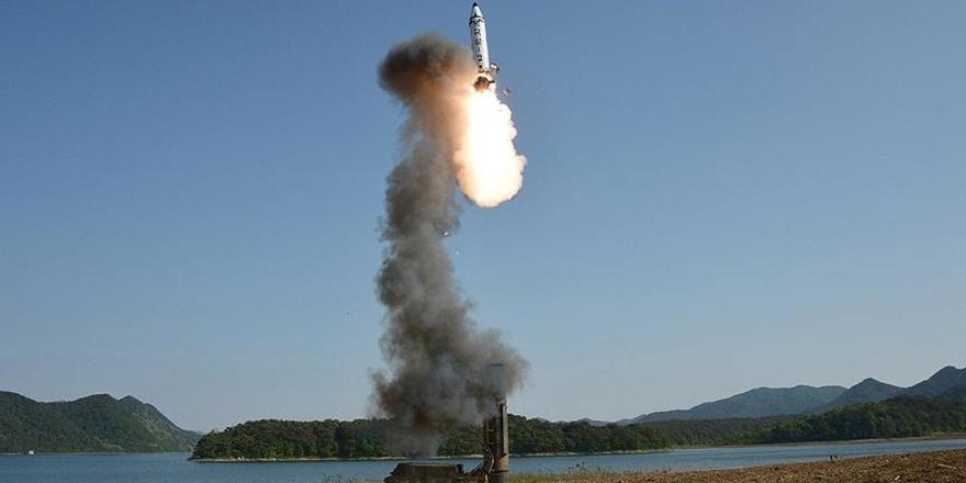 Kuzey Kore Yeni Bir Füze Denemesi Daha Yaptı!