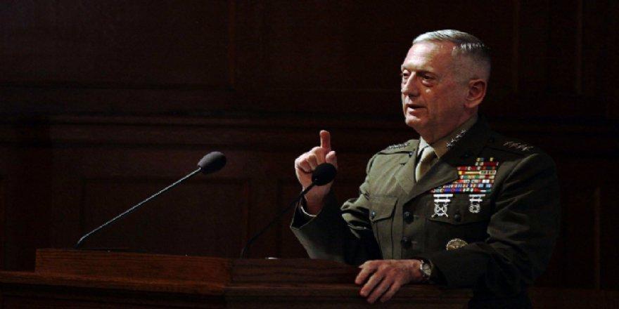 ABD Savunma Bakanı Mattis'ten Kuzey Kore Açıklaması