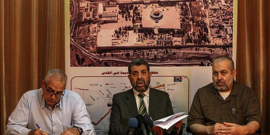 Hamas, İsrail'in İşgal Projesini Şiddetle Reddediyor