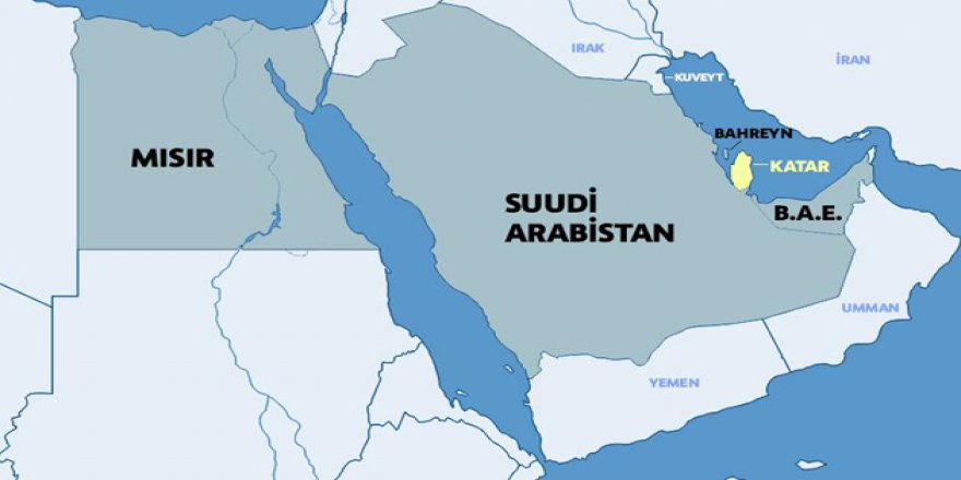 Suudi-Mısır-BAE Üçlüsü Katar'la İlişkiyi Kesti: Sebep, İhvanofobia!