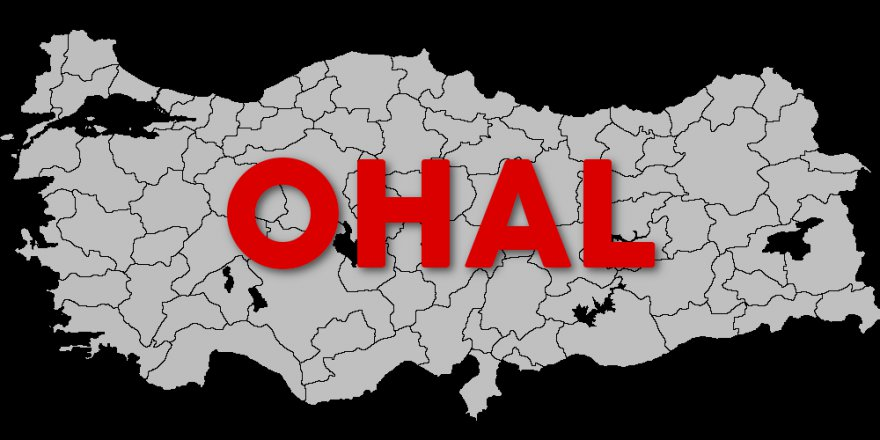 """""""OHAL'i Kendilerince Fırsata Çevirip Ocakları Söndürdüler"""""""