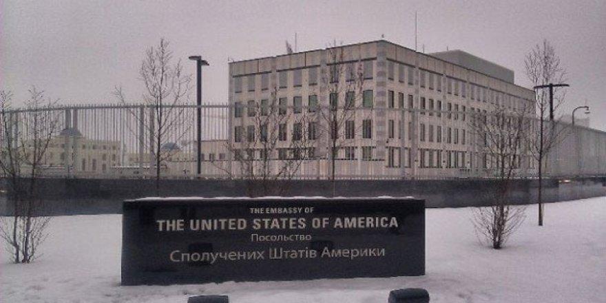 Kiev'deki ABD Büyükelçiliği Yerleşkesine Bombalı Saldırı