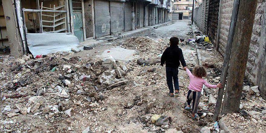 Humus'ta Açlıkla Mücadele Sürüyor!