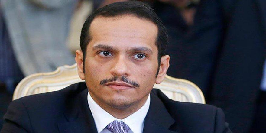 Katar Dışişleri Bakanı: Ülkemize Yönelik Uygulanan Abluka Yasa Dışıdır