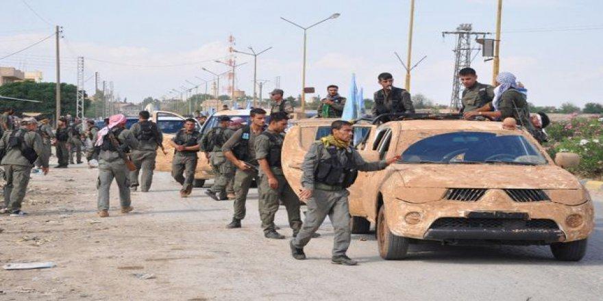 PYD Halep'in Batısında İlerlemeye Çalışıyor