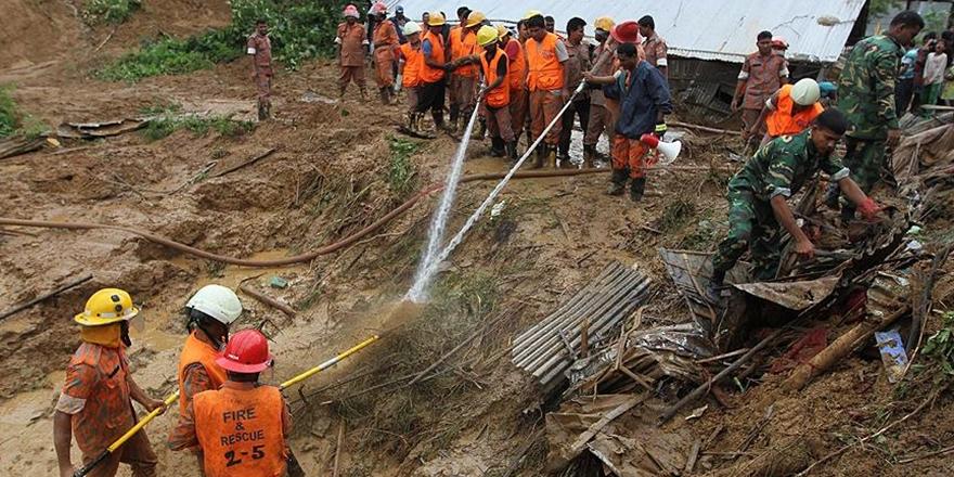 Bangladeş'te Heyelan: 48 Kişi Hayatını Kaybetti