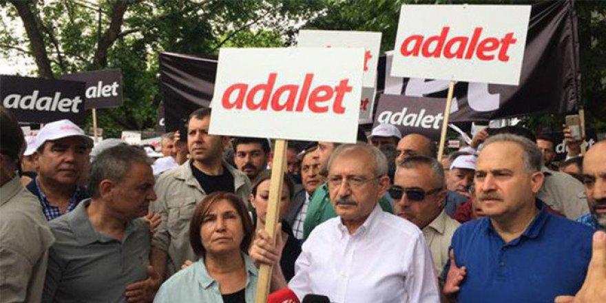 Kılıçdaroğlu'nun 'Adalet' Yürüyüşü Başladı!