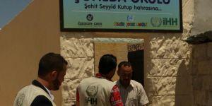 Suriye'deki Şüheda Okulu'nun Yapımı Tamamlandı