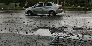 Ukrayna'nın Donetsk Kentinde Patlama!