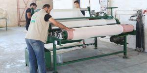 İHH, Suriye'de Sargı Bezi Fabrikası Kurdu!
