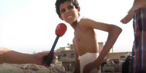 Musul'da Bir Çocuk 20 Gün Boyunca Bodrumda Saklanmış!