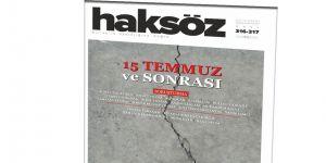Haksöz Dergisi Birleşik Sayısında 15 Temmuz'u Değerlendirdi