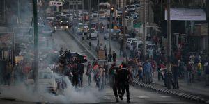 Batı Şeria'da 'Siyonist İsrail'in Aksa'daki Uygulamalarına Tepki Yürüyüşü'