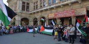 İşgalci İsrail'in Mescid-i Aksa'ya Yönelik Zulümleri Avusturya'da Tel'in Edildi