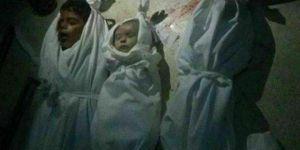 Esed Rejimi Doğu Guta'ya Vakum Bombasıyla Saldırdı