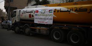 İHH'dan Gazze'ye Yakıt Yardımı