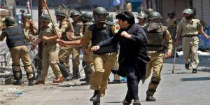 Hint Güçleri Keşmir'de Protestoculara Saldırdı: 1 Ölü