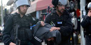 İşgalci İsrail'den Doğu Kudüs'te 51 Filistinliye Gözaltı!
