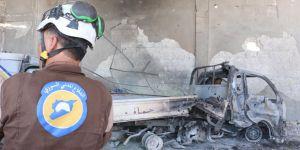İdlib'de Beyaz Baretliler'e Saldırı!