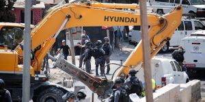 İşgalci İsrail Filistinlinin Evini İkinci Kez Yıktı!